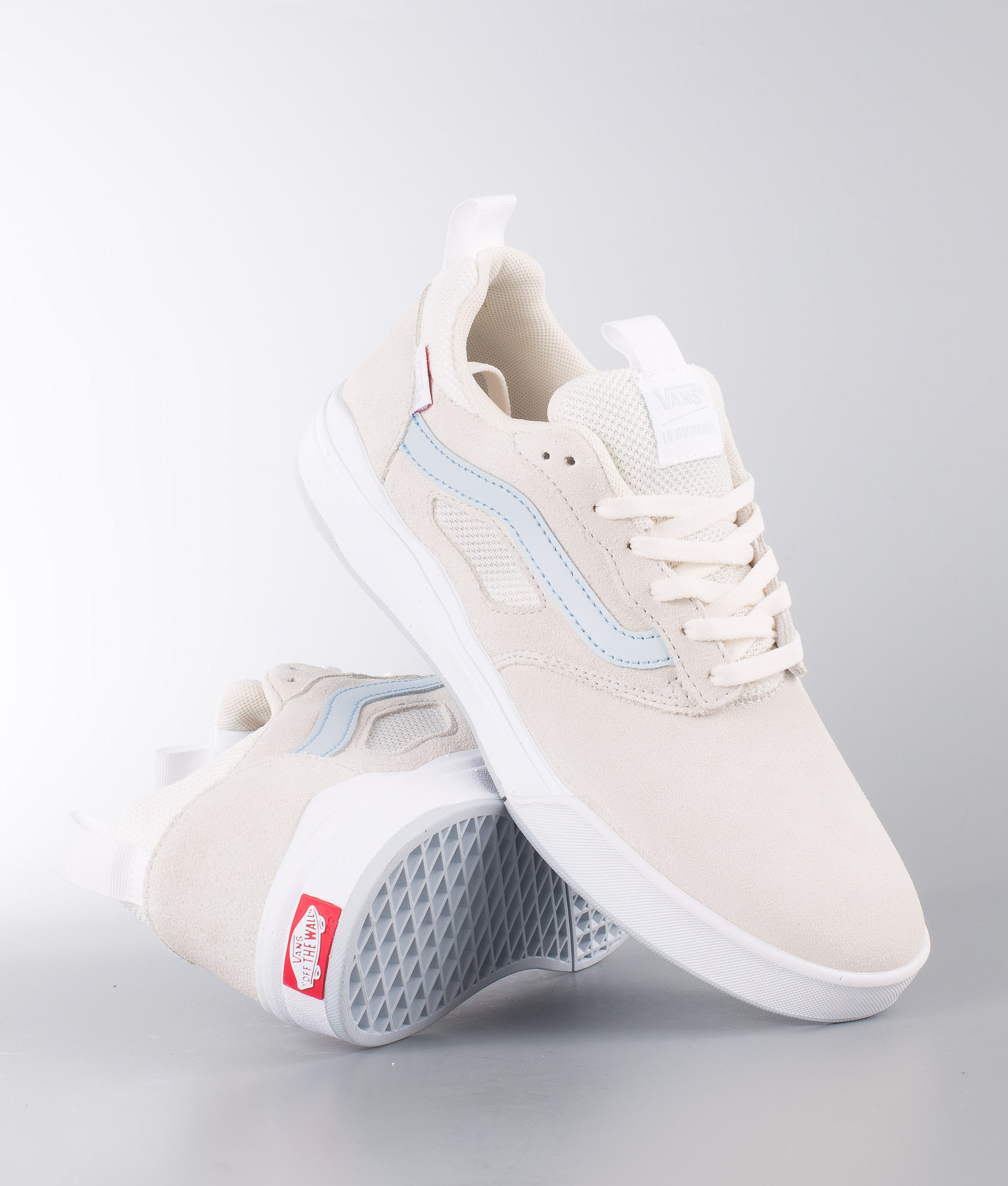 07f213fb6e Vans Ultrarange Pro Shoes White. (Center Court) Classic White Baby Blue