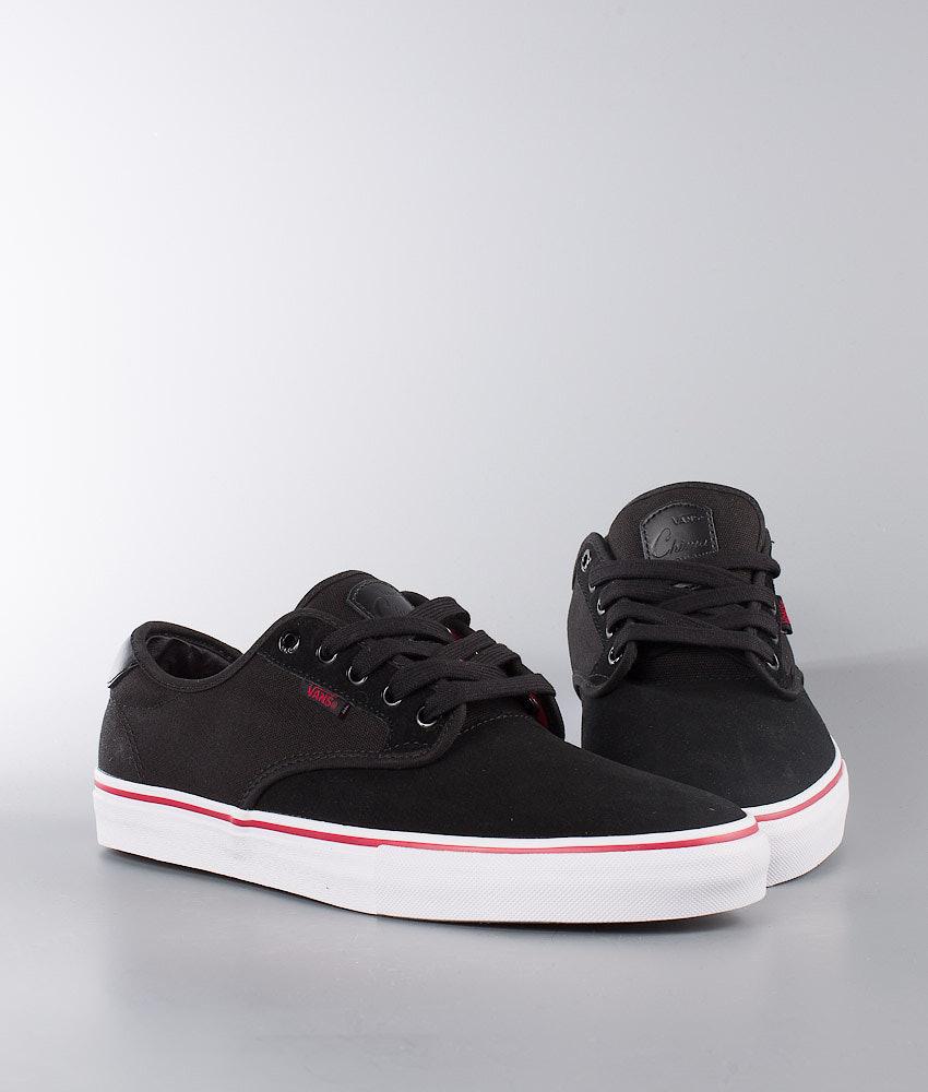 85597d036bce Vans Chima Ferguson Pro Shoes Black White Chili Pepper - Ridestore.com