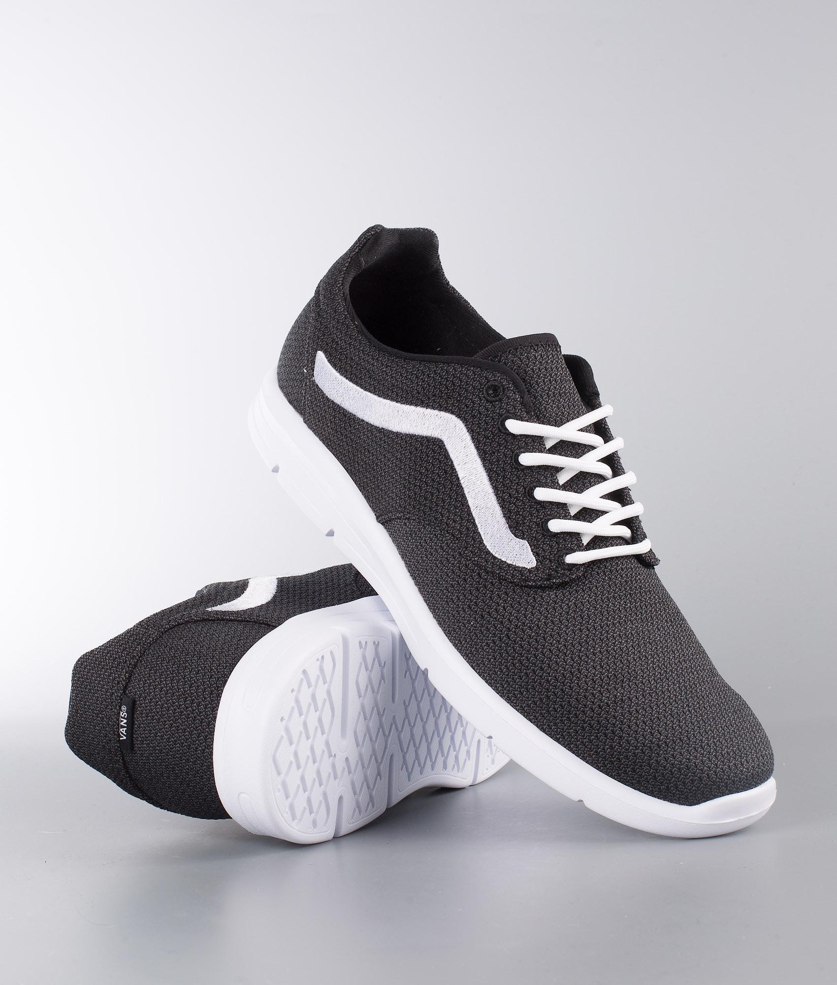 5ee1f78655a0 Vans Iso 1.5 Shoes (Mesh) Black Asphalt True White - Ridestore.com