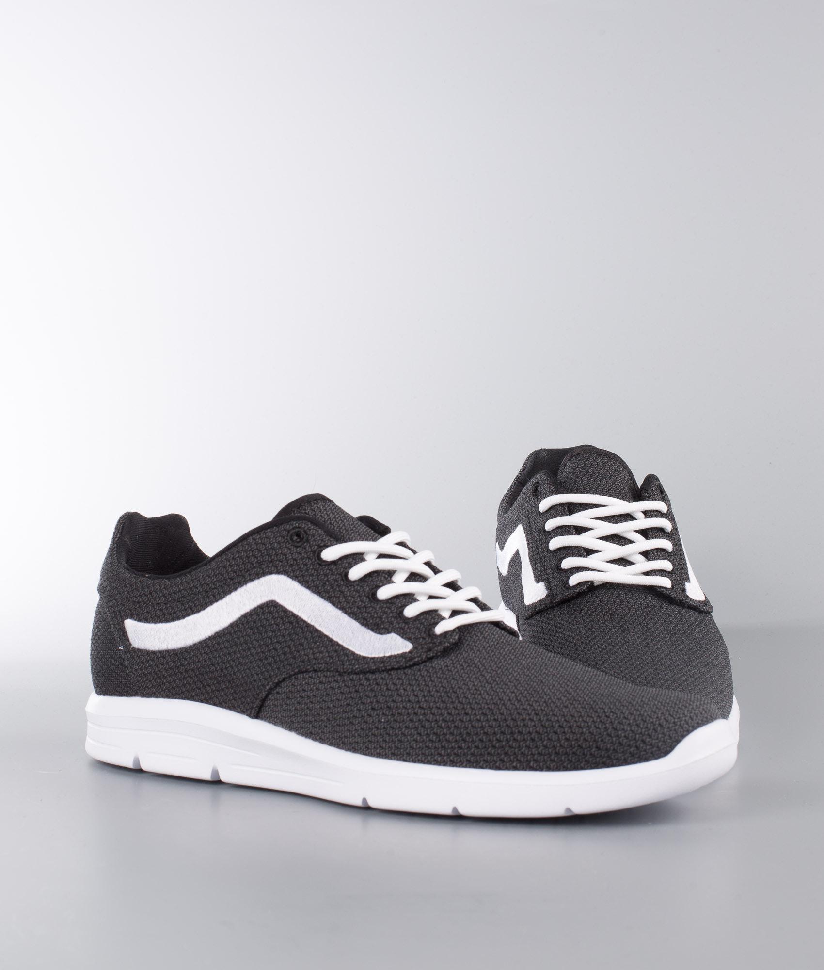 ebed5d88d9c6f4 Vans Iso 1.5 Shoes (Mesh) Black Asphalt True White - Ridestore.com