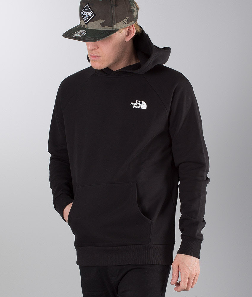 The North Face Raglan Red Box Hoodie Black - Ridestore.com 723a37efa77f