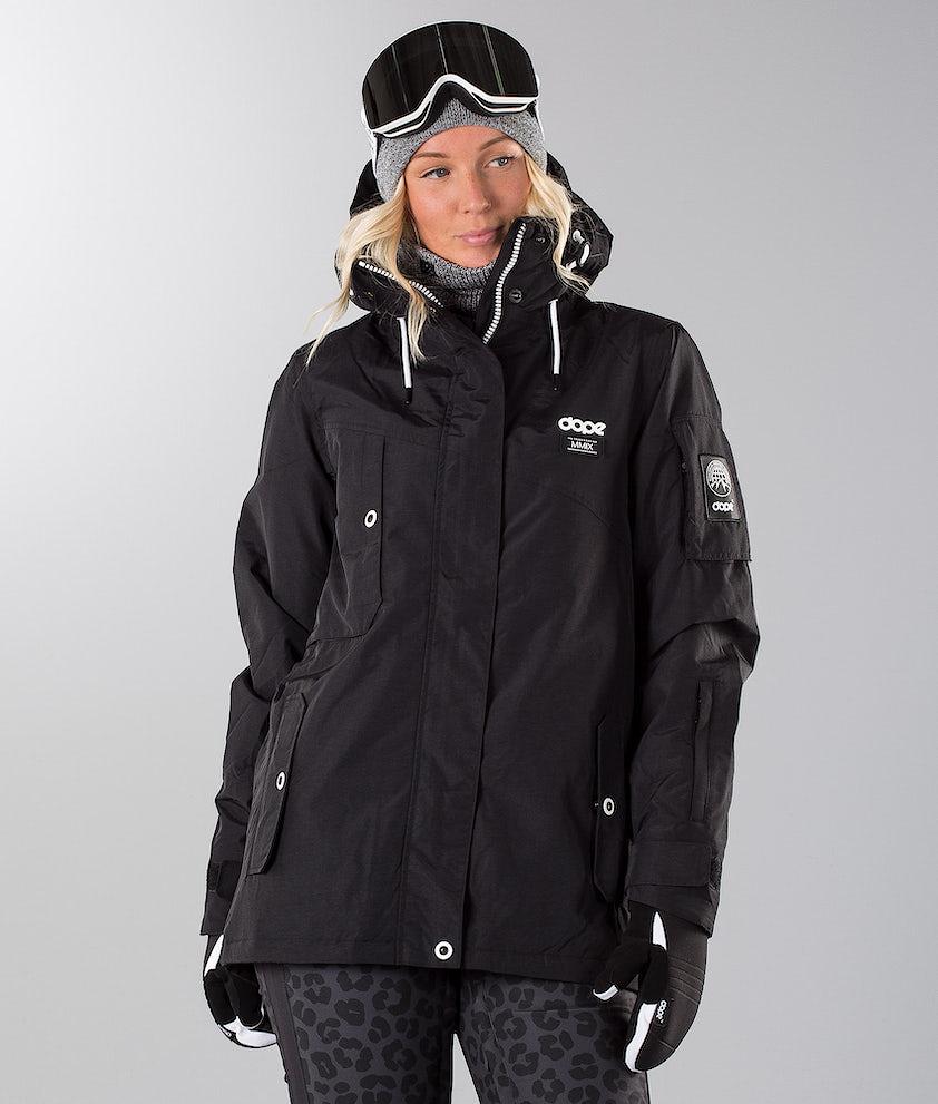Dope Adept W 18 Snowboard Jacket Black