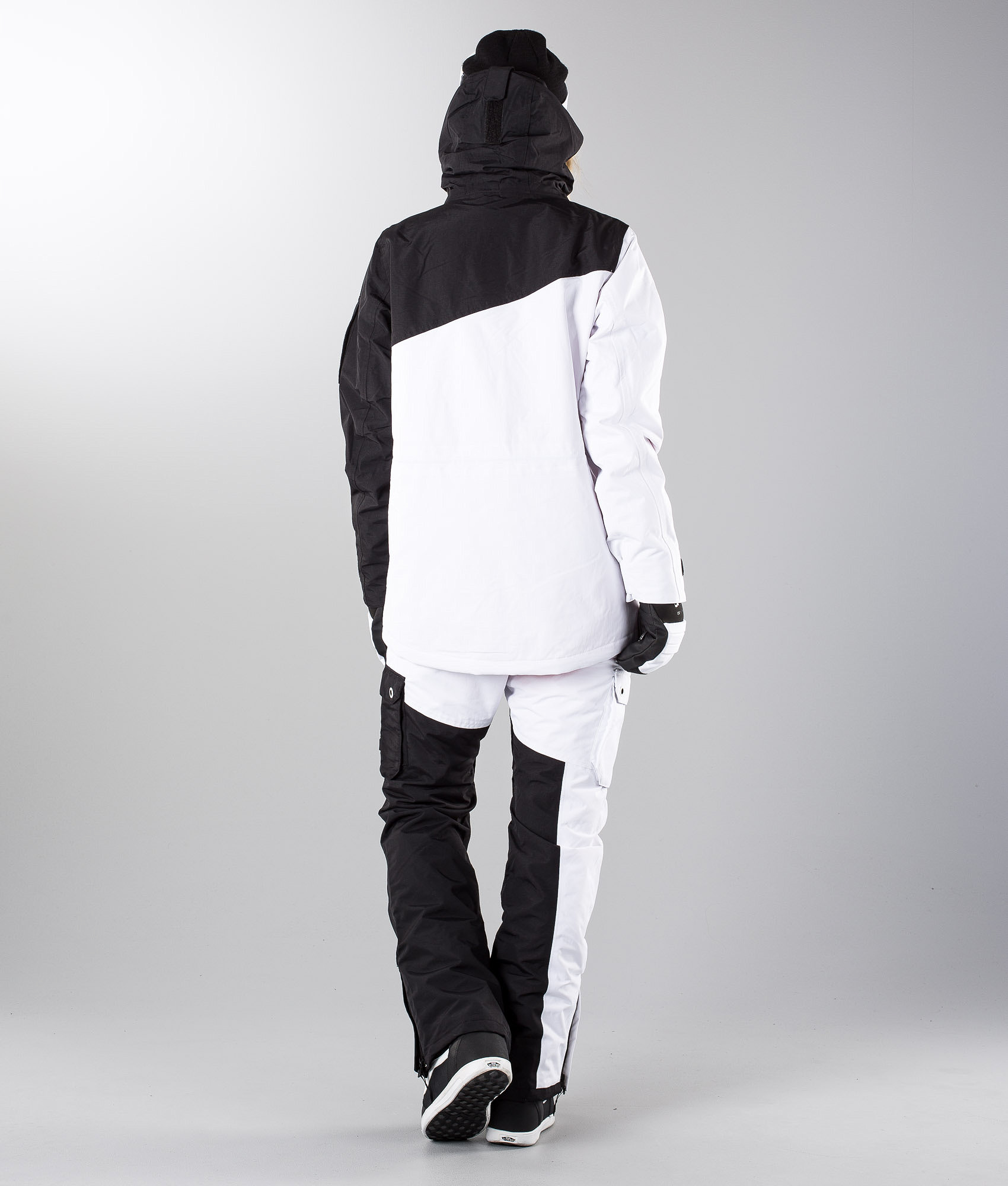76a40a8368 Dope Adept W Snowboard Jacket Black White - Ridestore.com