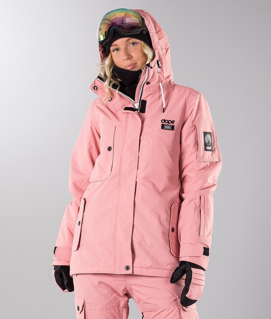 Dope Adept W 18 Snowboardjacke Pink
