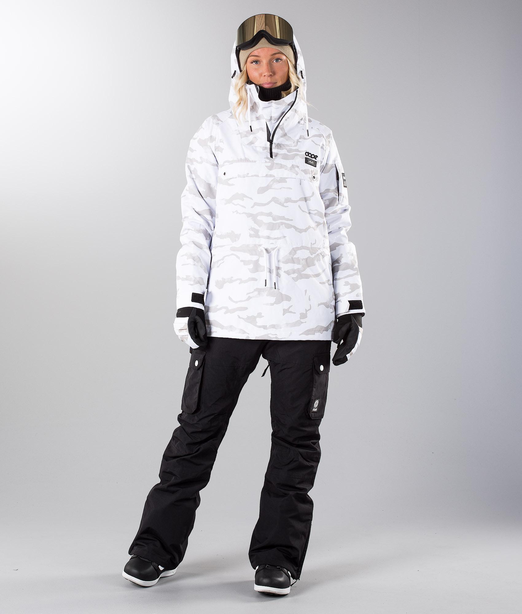 ba9f5dc11289 Dope Annok W Snowboardjacka Whiteout - Ridestore.se