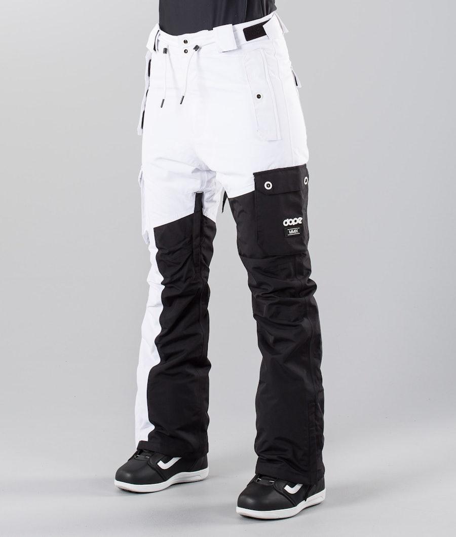Dope Adept W 18 Snowboardbyxa Black/White