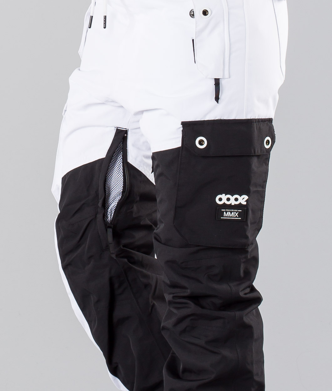 5a15a06856 Dope adept snow pants black white jpg 1062x1249 Dope snow white