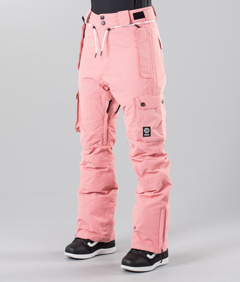 Dope Iconic W 18 Snowboardbukse Pink