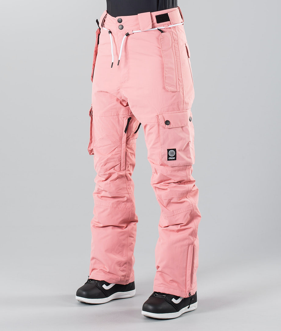 Dope Iconic 19 Snow Pants Pink