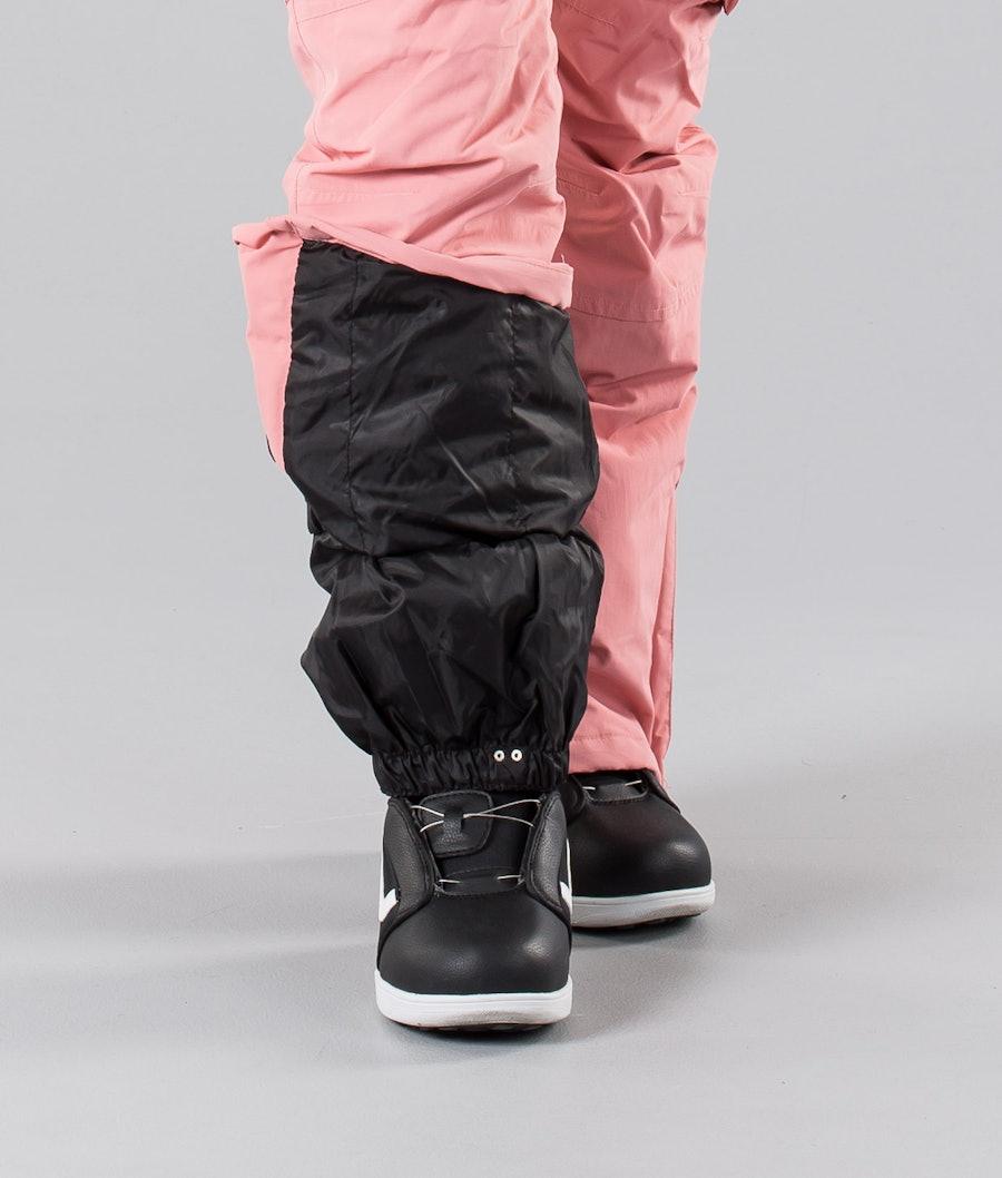 Dope Iconic W 18 Pantaloni da Snowboard Donna Pink