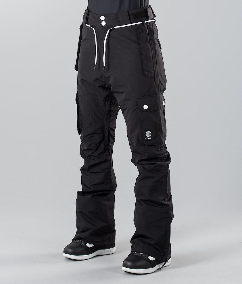 Dope Iconic W 18 Snowboardbukse Black