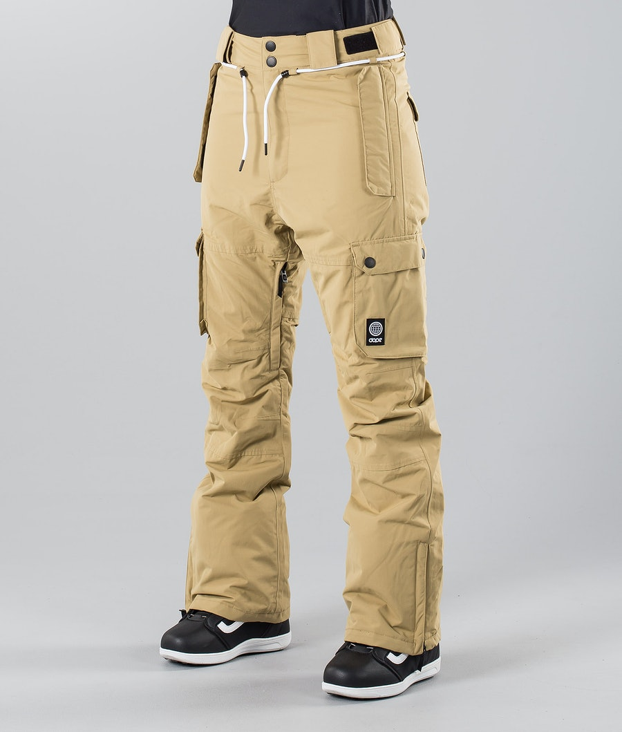 Dope Iconic W 18 Snow Pants Khaki