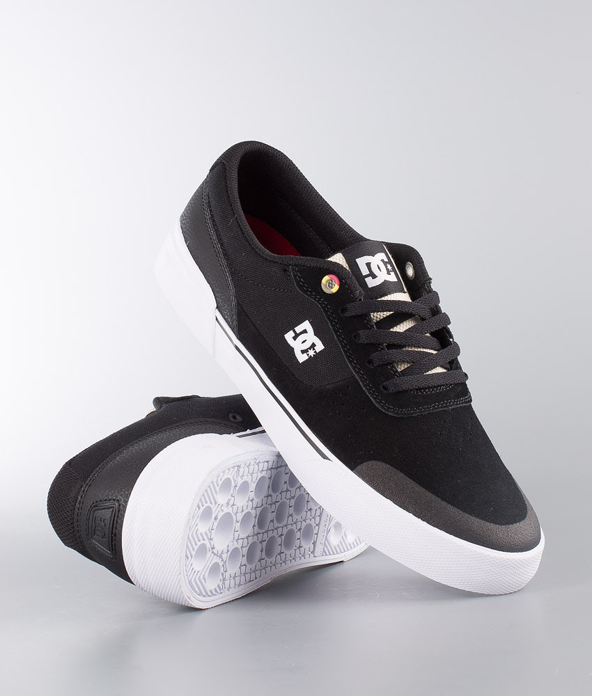 e04080450a DC Switch Plus S Shoes Black/White/Red - Ridestore.com