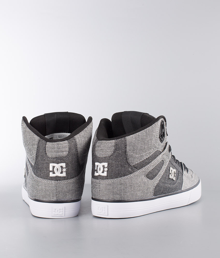 a00c28cdb2 DC Pure High-Top Wc Tx Se Shoes Grey White Grey - Ridestore.com