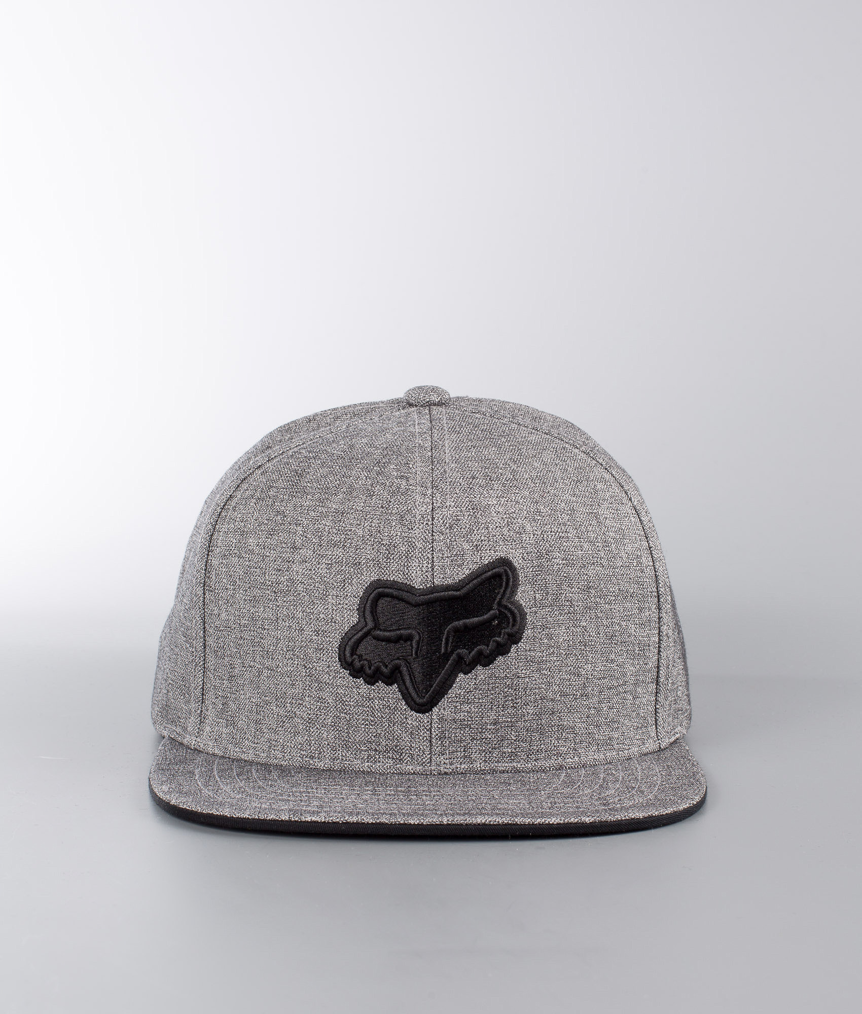 Fox Legacy Snapback Cap Heather Grey - Ridestore.com 6537045e7692