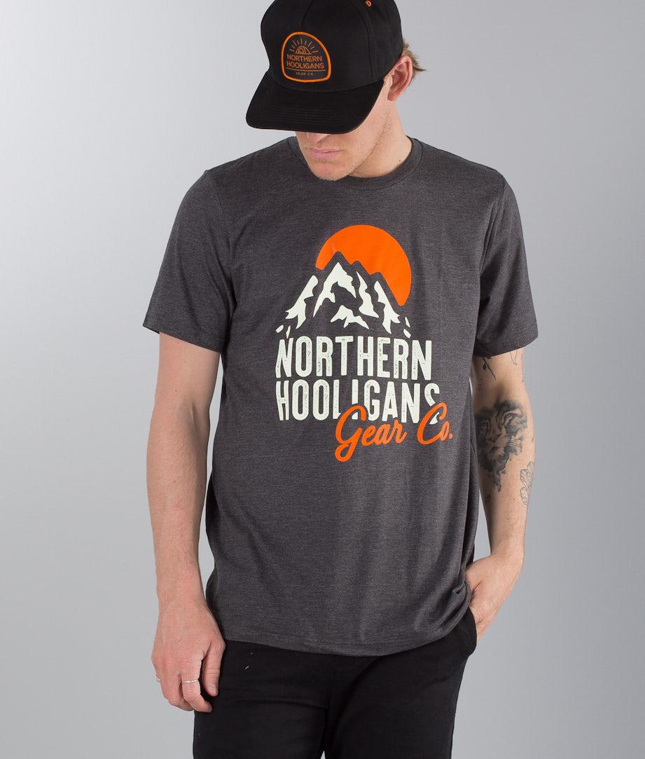 Northern Hooligans Sun Ridge T-shirt Heather Dark Grey