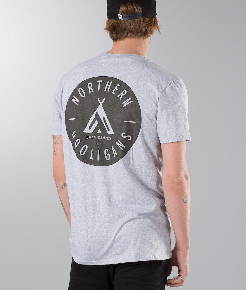 Northern Hooligans Urban Campers T-shirt Heather Grey