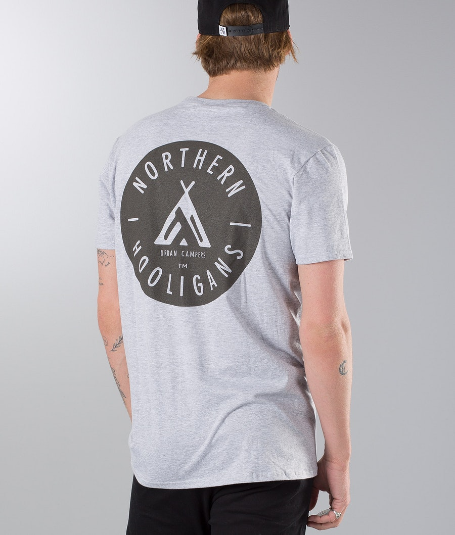 Northern Hooligans Urban Campers T-Shirt Heather Grey