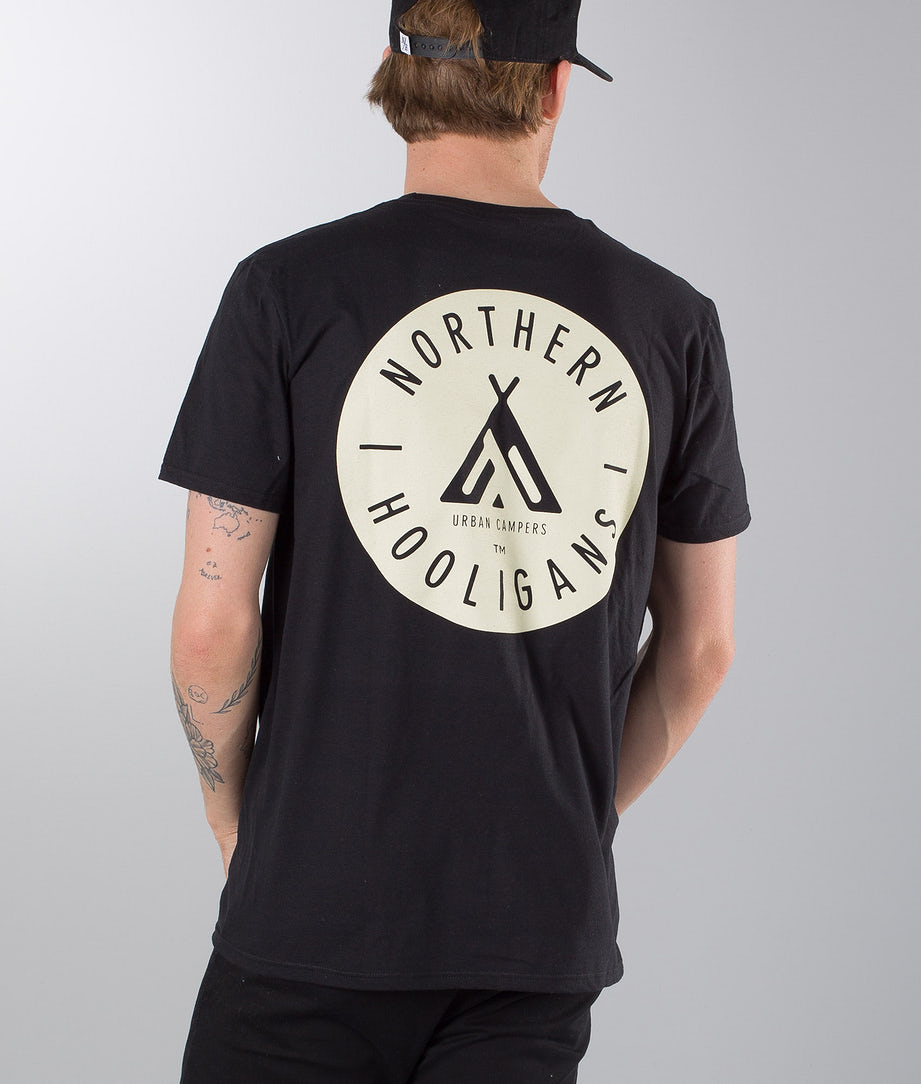 Northern Hooligans Urban Campers T-shirt Black