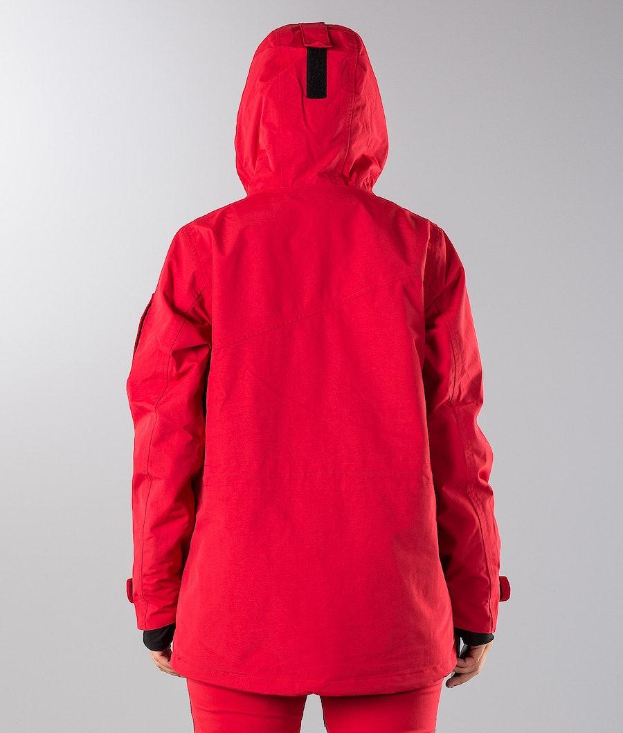 Dope Adept W 18 Veste de Snowboard Femme Red