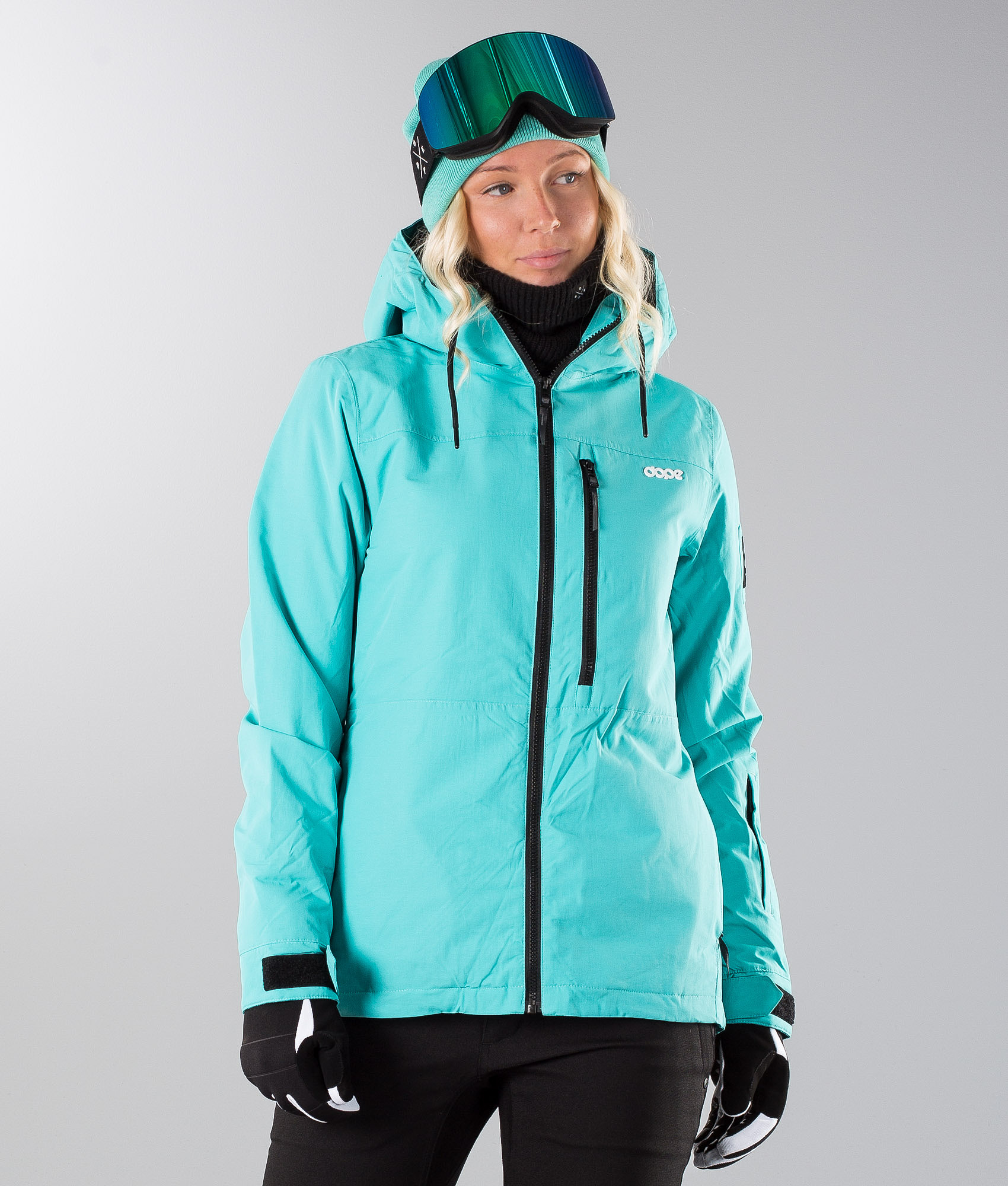 Dope Divine Snowboard Jacket Azure - Ridestore.com 52c11e2dd