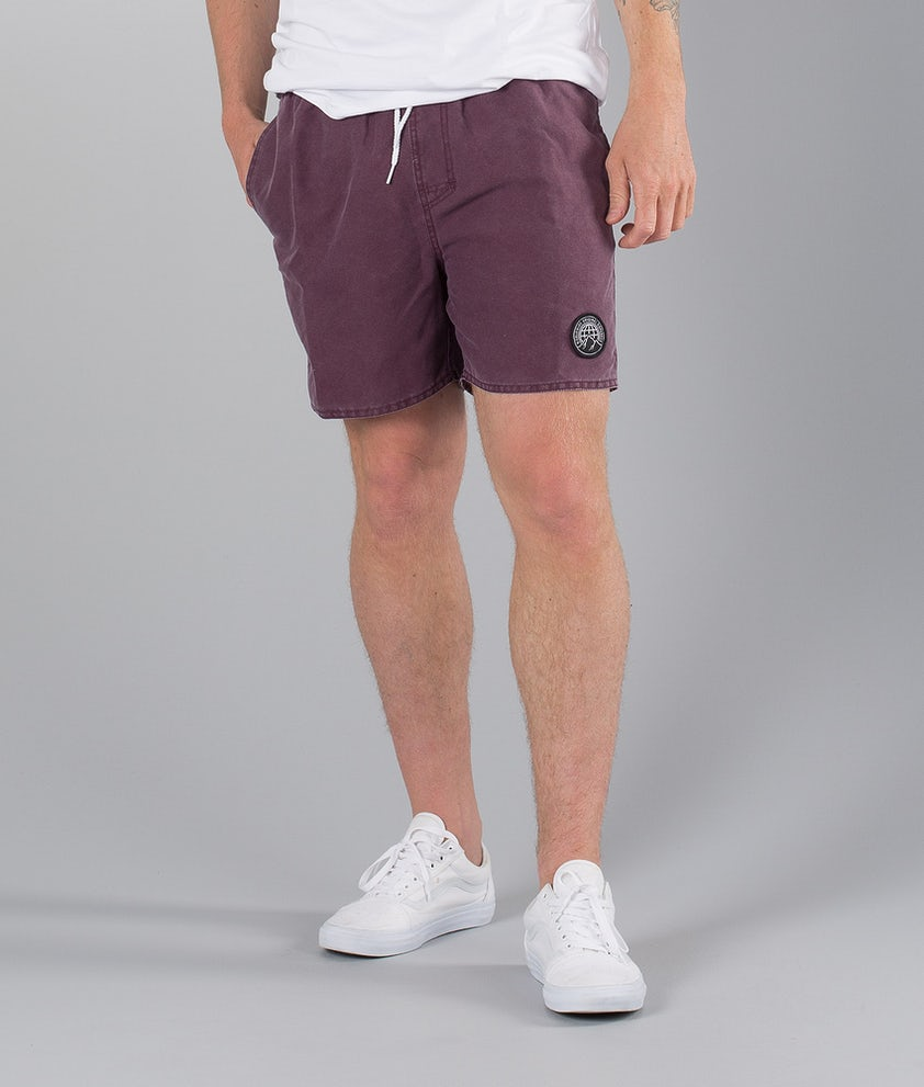 Dope Gaze Street Short Burgundy