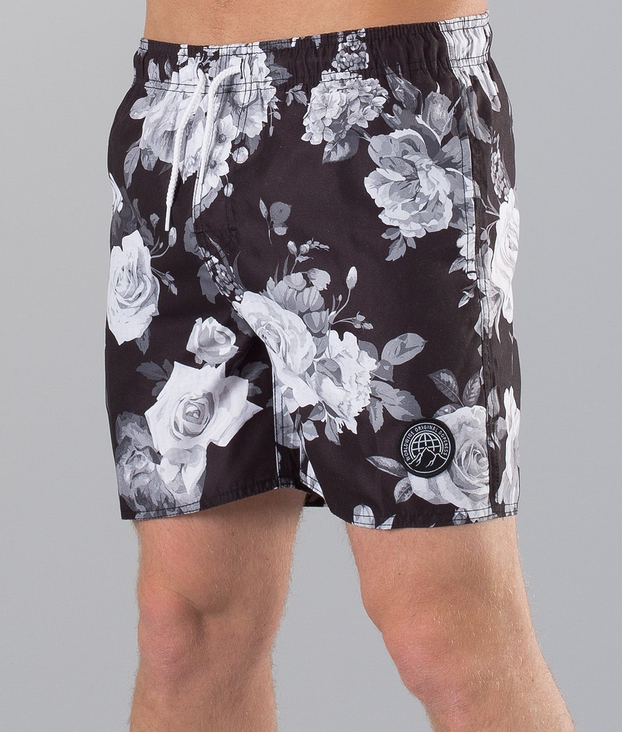 Dope Gaze Badeshorts Blackflower