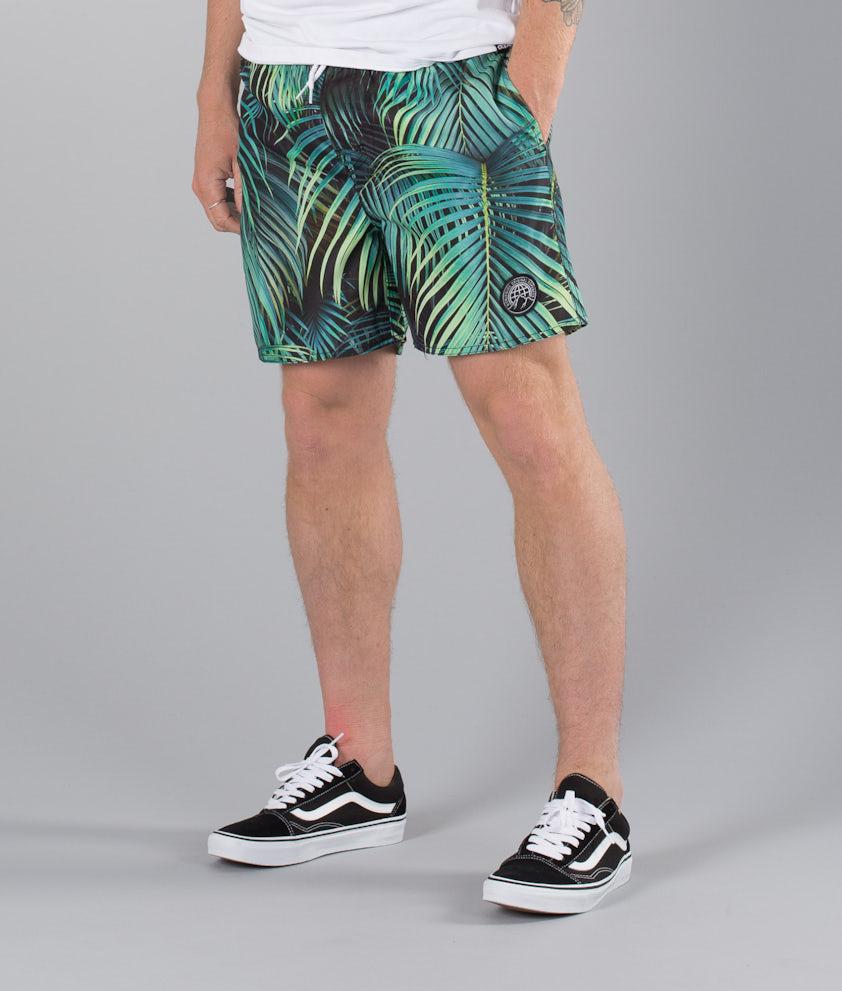 Dope Gaze Street Shorts Palmtree