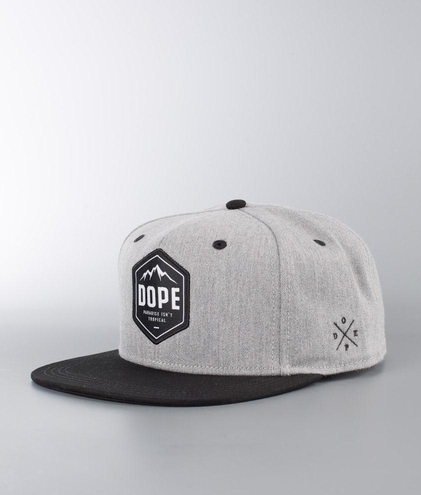 Dope Paradise Caps Grey Melange/ Black