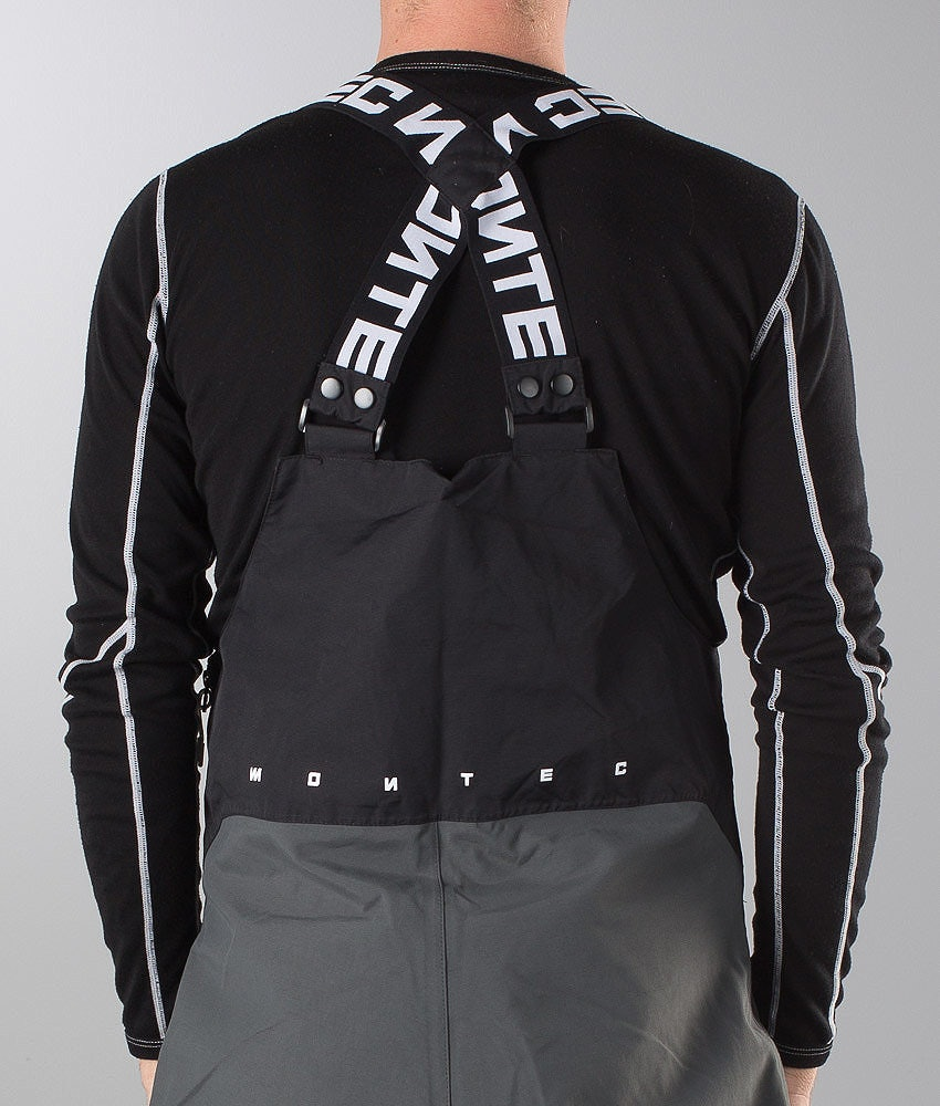 Montec Montec Suspenders 50Cm Hängslen Black/White