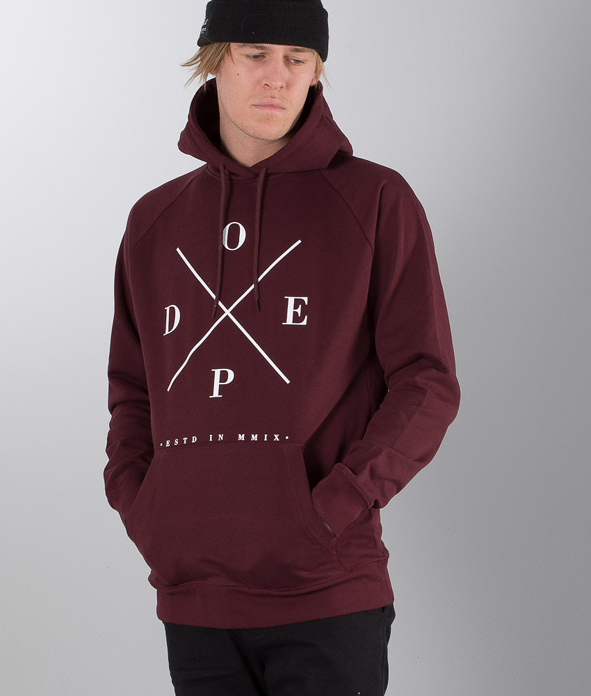 Dope 2X-UP Capuche Burgundy