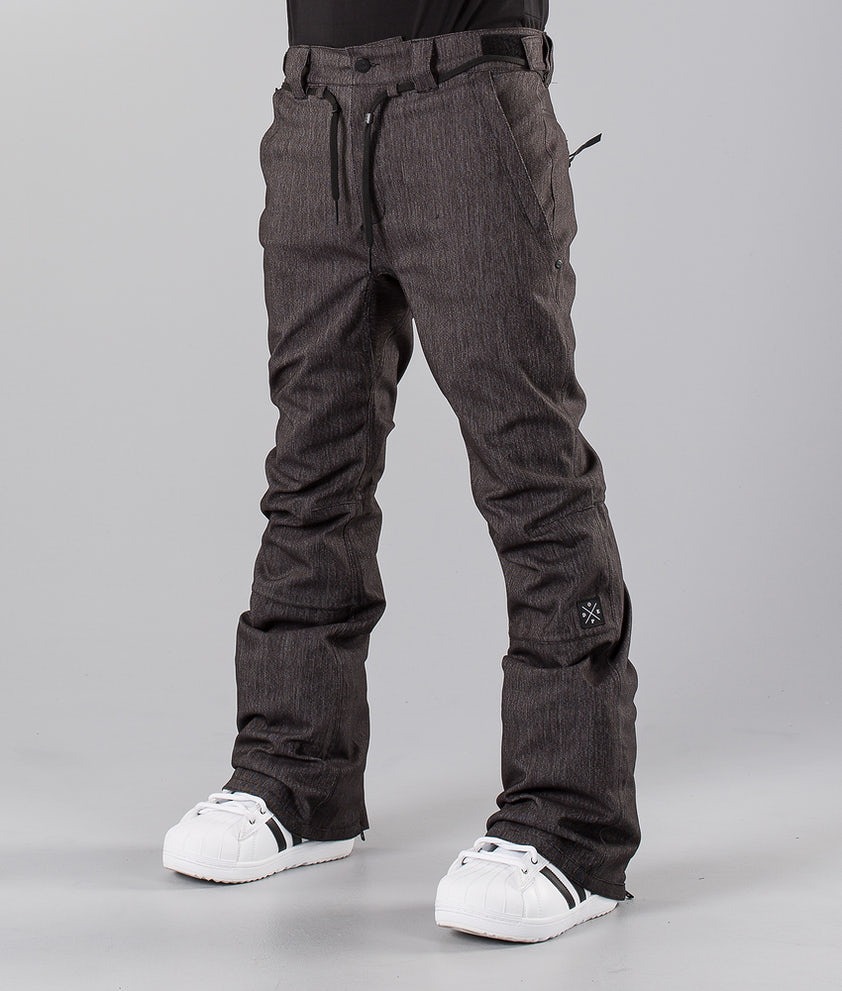 Dope Tiger Pantalon de Snowboard Dark Denim