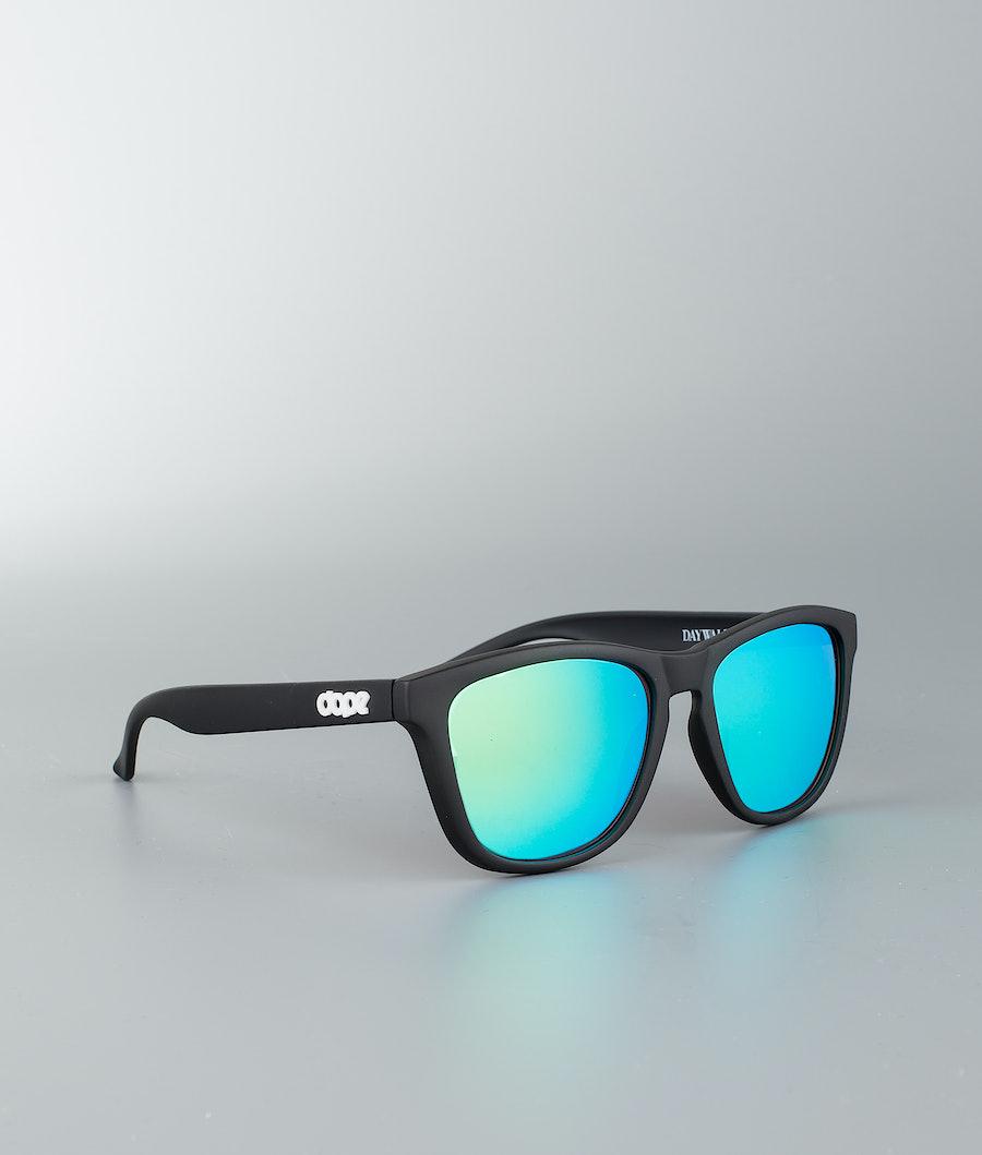 Dope Daywalker II Sonnenbrille Matte Black w/Green Mirror