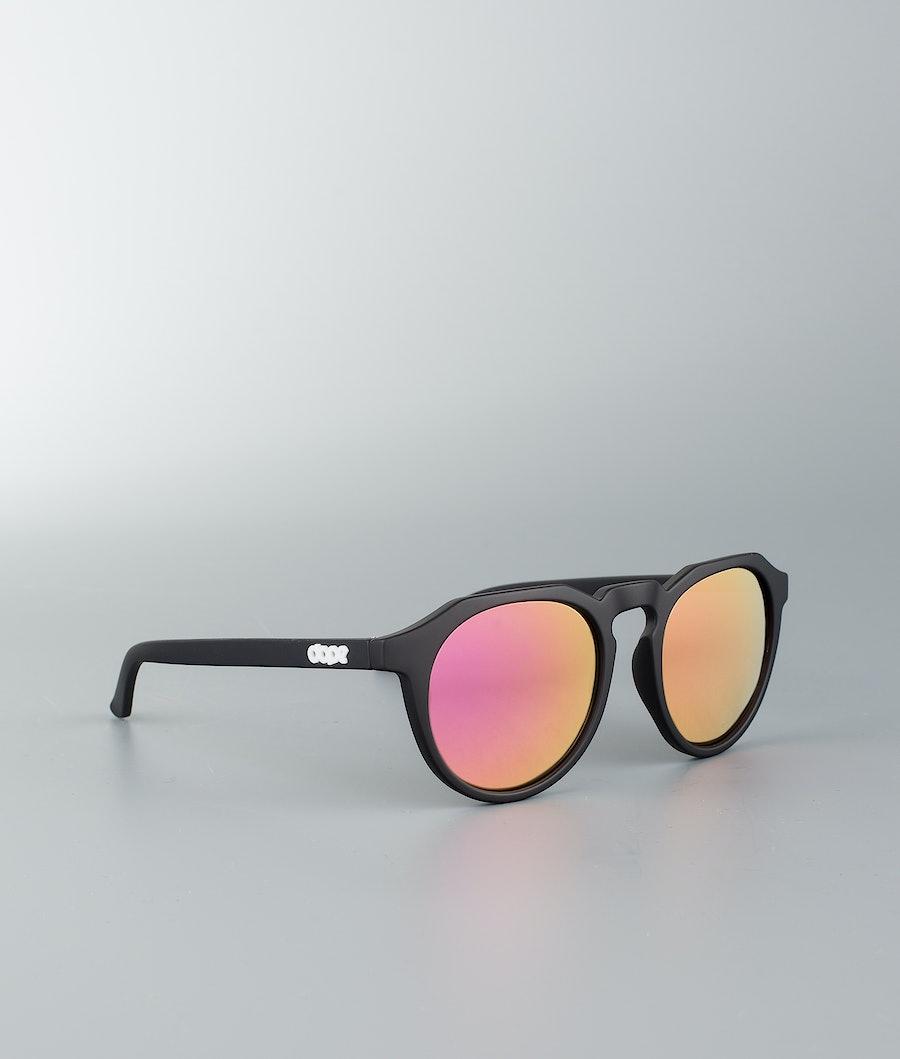 Dope Oldskool III Sonnenbrille Matte Black w/Pink Mirror