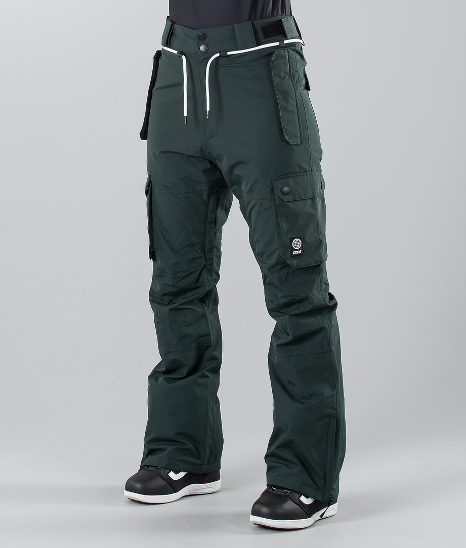 Dope Iconic W 19 Snow Pants Green