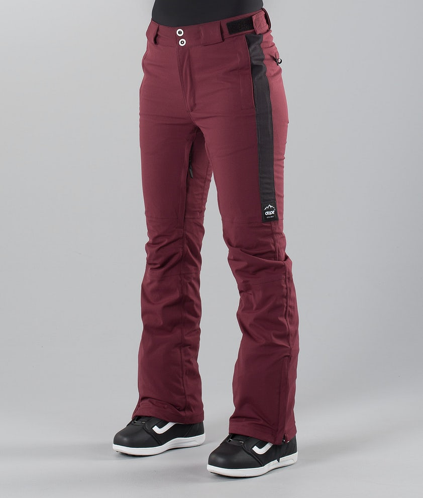 Dope Con 18 Snow Pants Burgundy