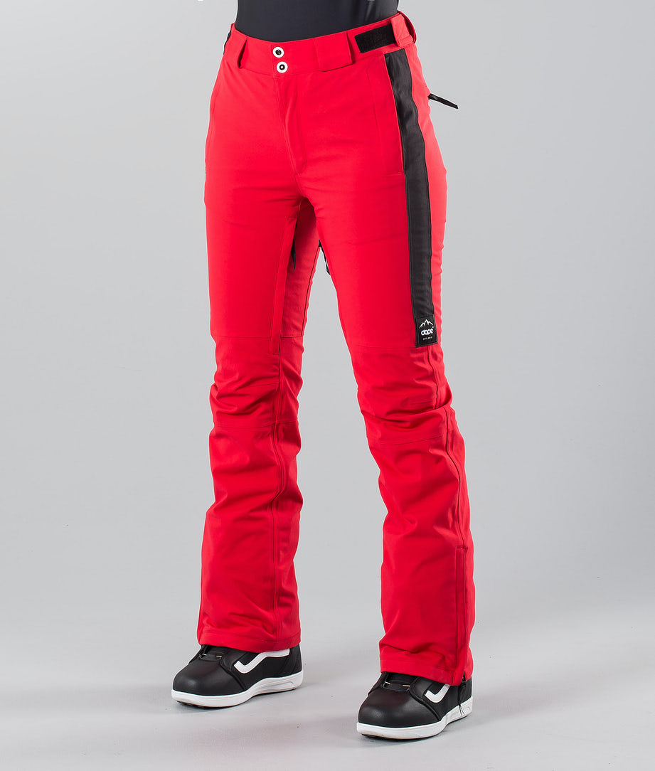 Dope Con 18 Snow Pants Red