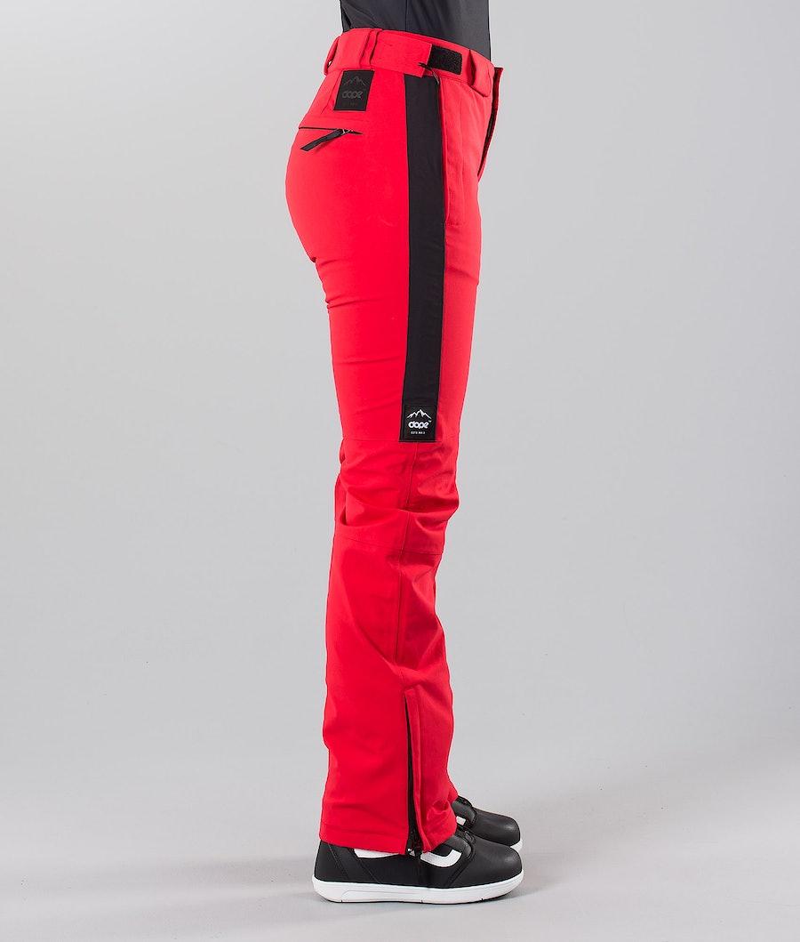 Dope Con 18 Pantaloni da Snowboard Donna Red