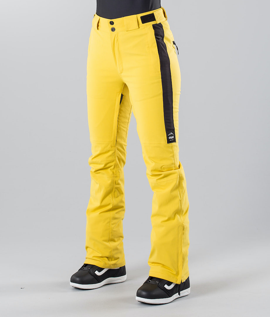 Dope Con 18 Snow Pants Yellow