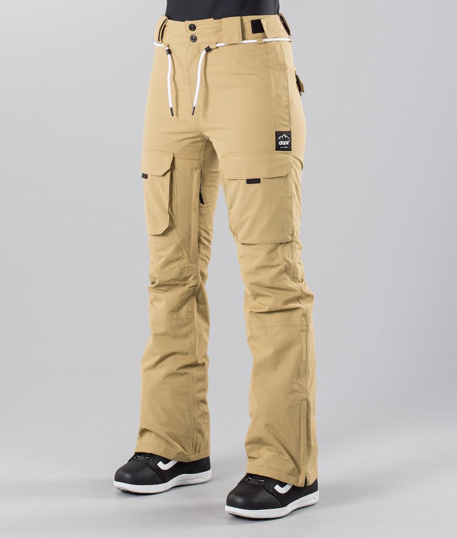 Dope Grace 18 Snow Pants Khaki