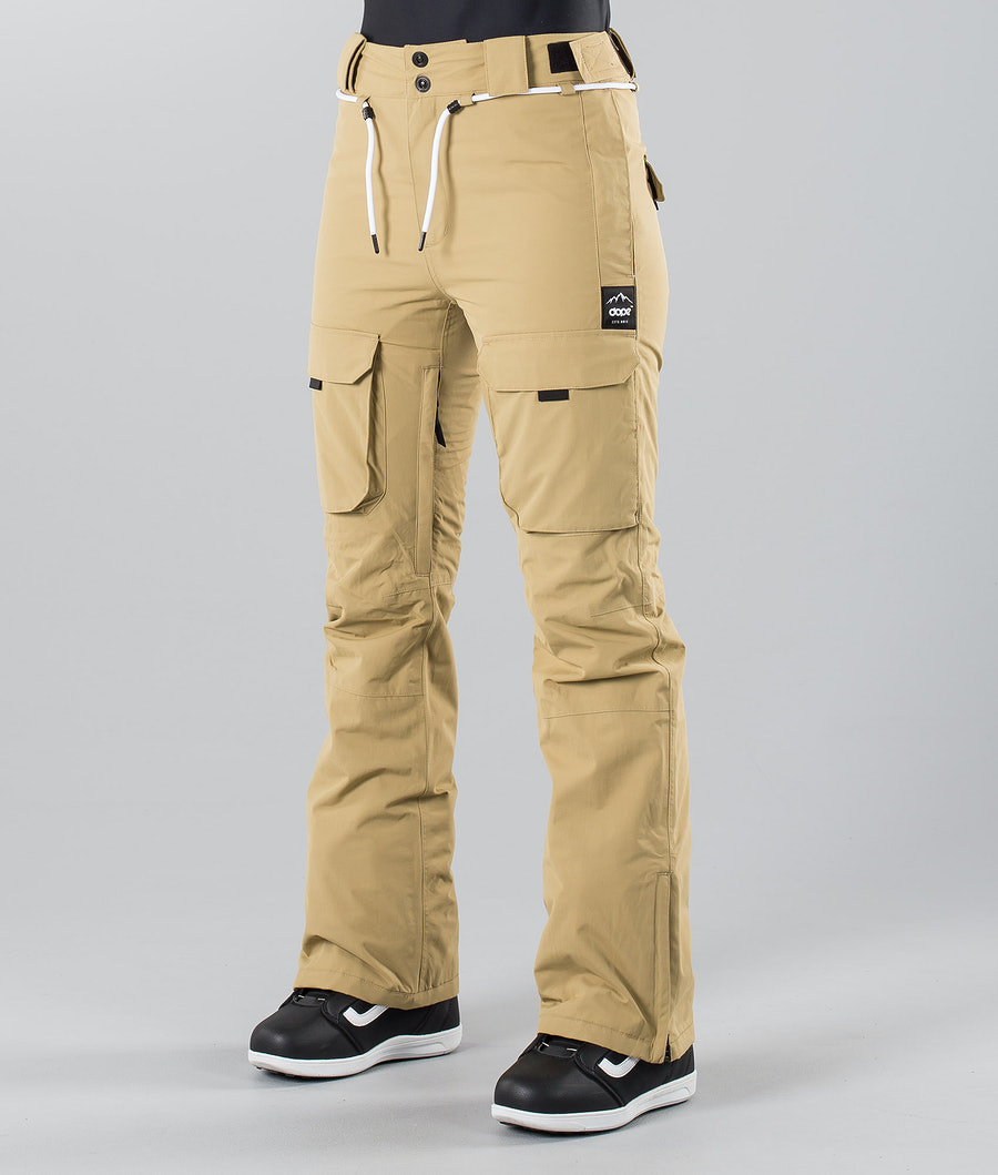 Dope Grace 18 Snow Pants Khaki