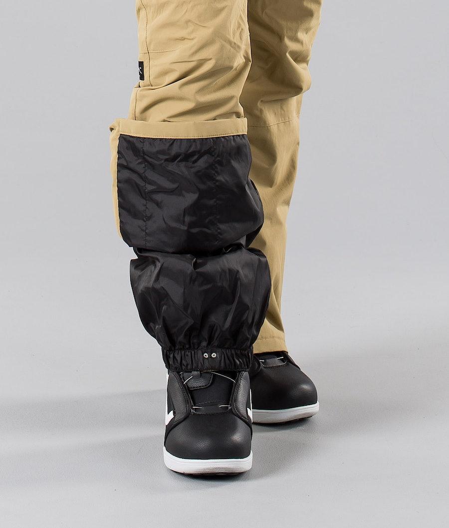 Dope Grace 18 Women's Snowboard Pants Khaki