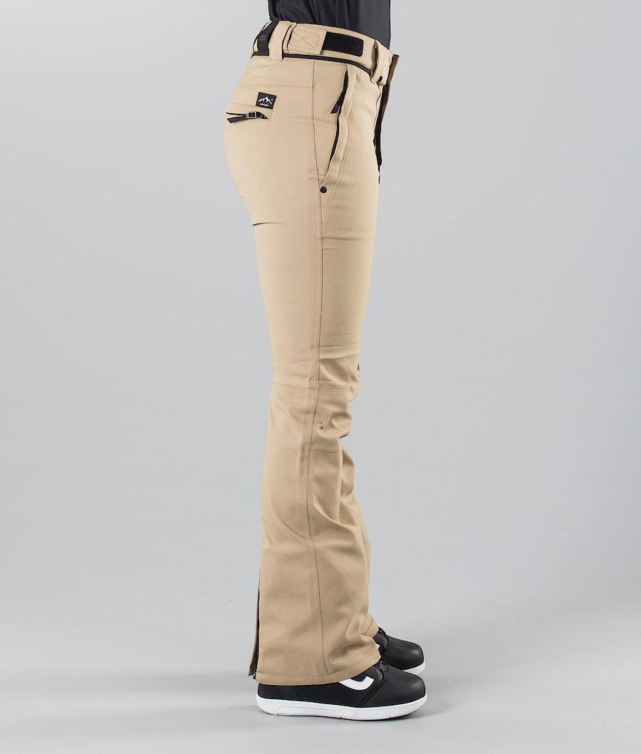 Dope Tigress 18 Women's Snowboard Pants Khaki