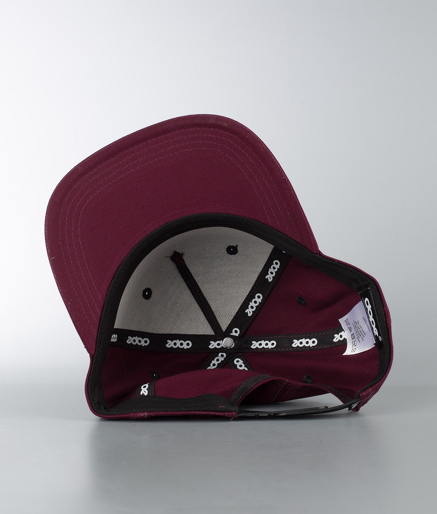 Dope 2X-Up Casquette Burgundy