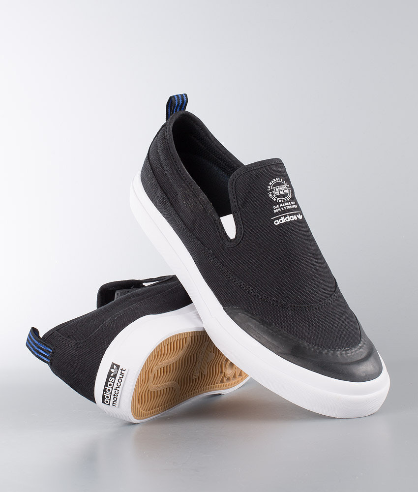 9f0d7cabb92 Adidas Skateboarding Matchcourt Slip Shoes Black. Core Black Footwear White