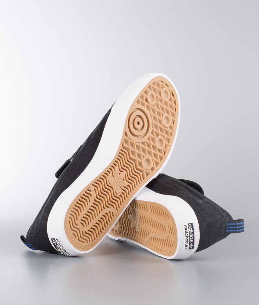85ed2a08f3e Adidas Skateboarding Matchcourt Slip Shoes Core Black Footwear White ...
