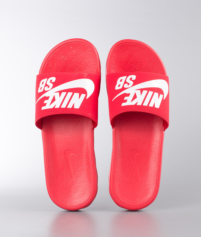 cc57c3e0b7852 Nike Benassi Solarsoft Sandal University Red White