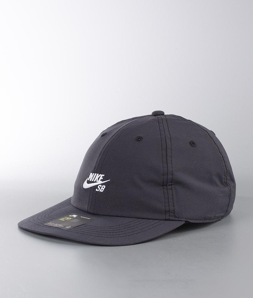 bf34bee5bf5 Nike H86 Flat B Cap Black White - Ridestore.com
