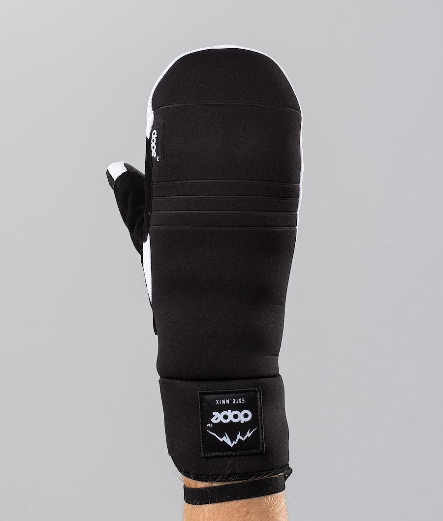 Dope Signet Mitt Ski Gloves Black/White