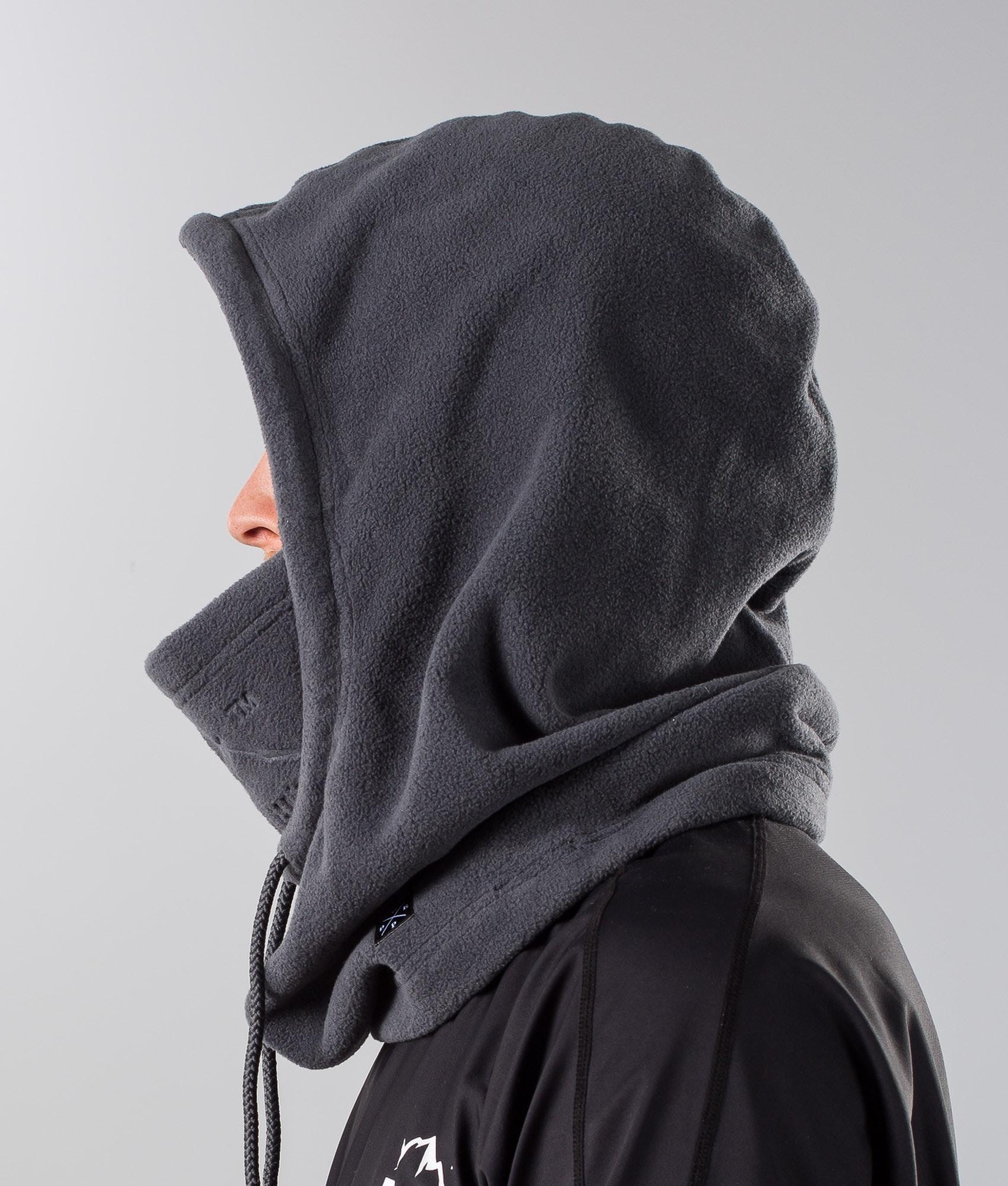 Dope Cozy Hood Skimaske Darkgrey Ridestore De